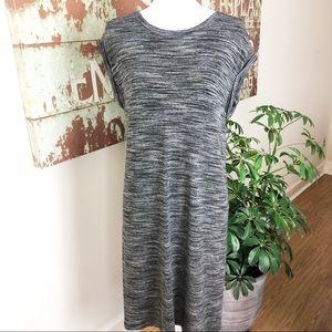 Anthropologie cloth & stone melange T-shirt dress